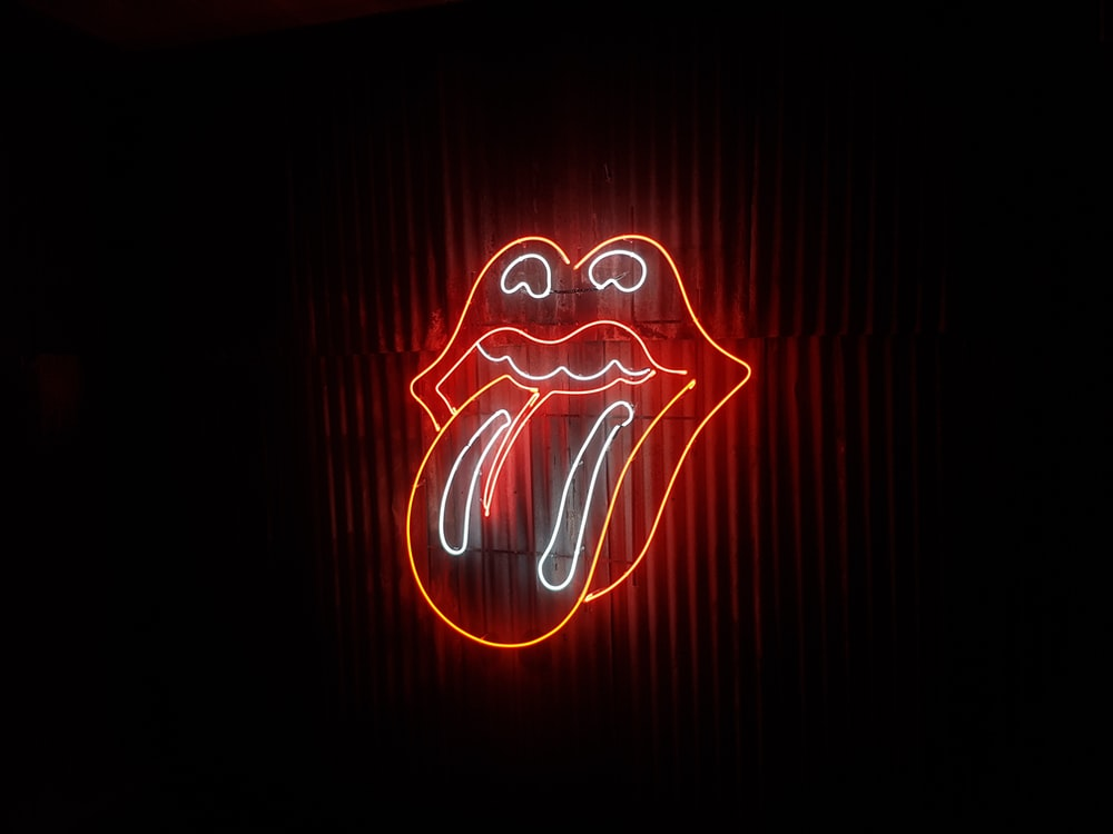 The Rolling Stone neon signage
