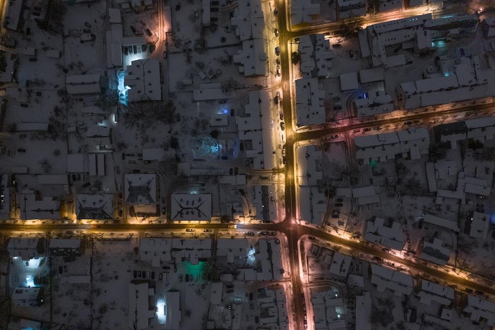 tilt photography of cityscape