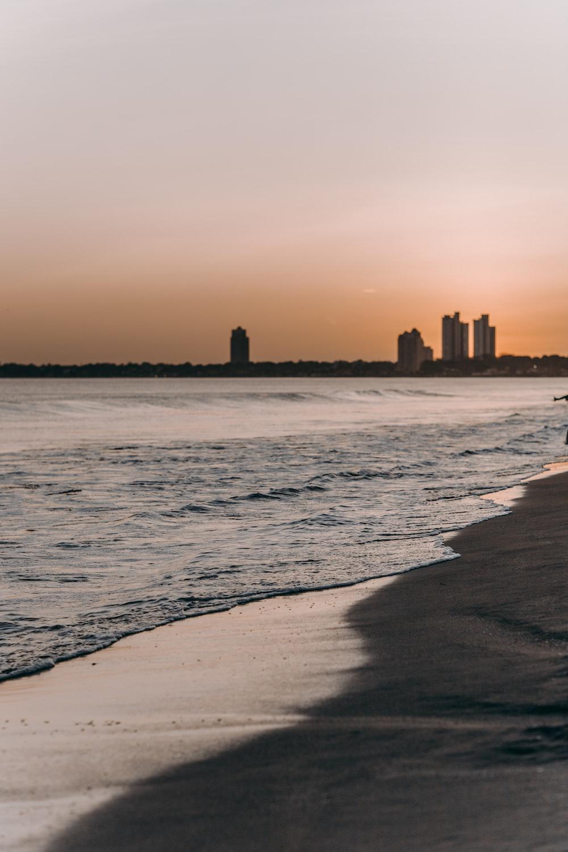 landscape photo of shore
