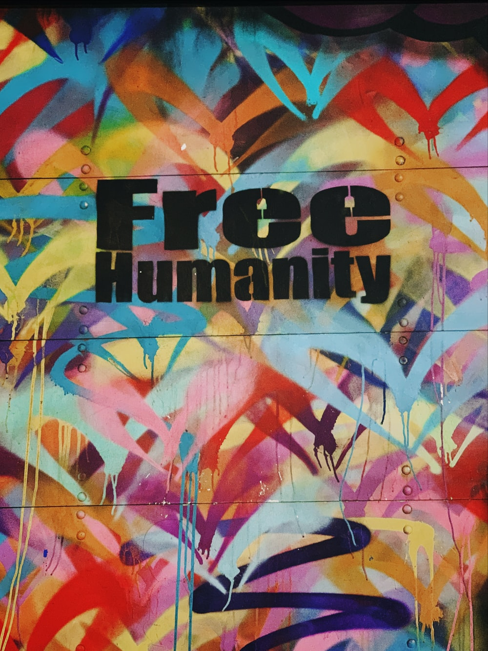 Free Humanity text