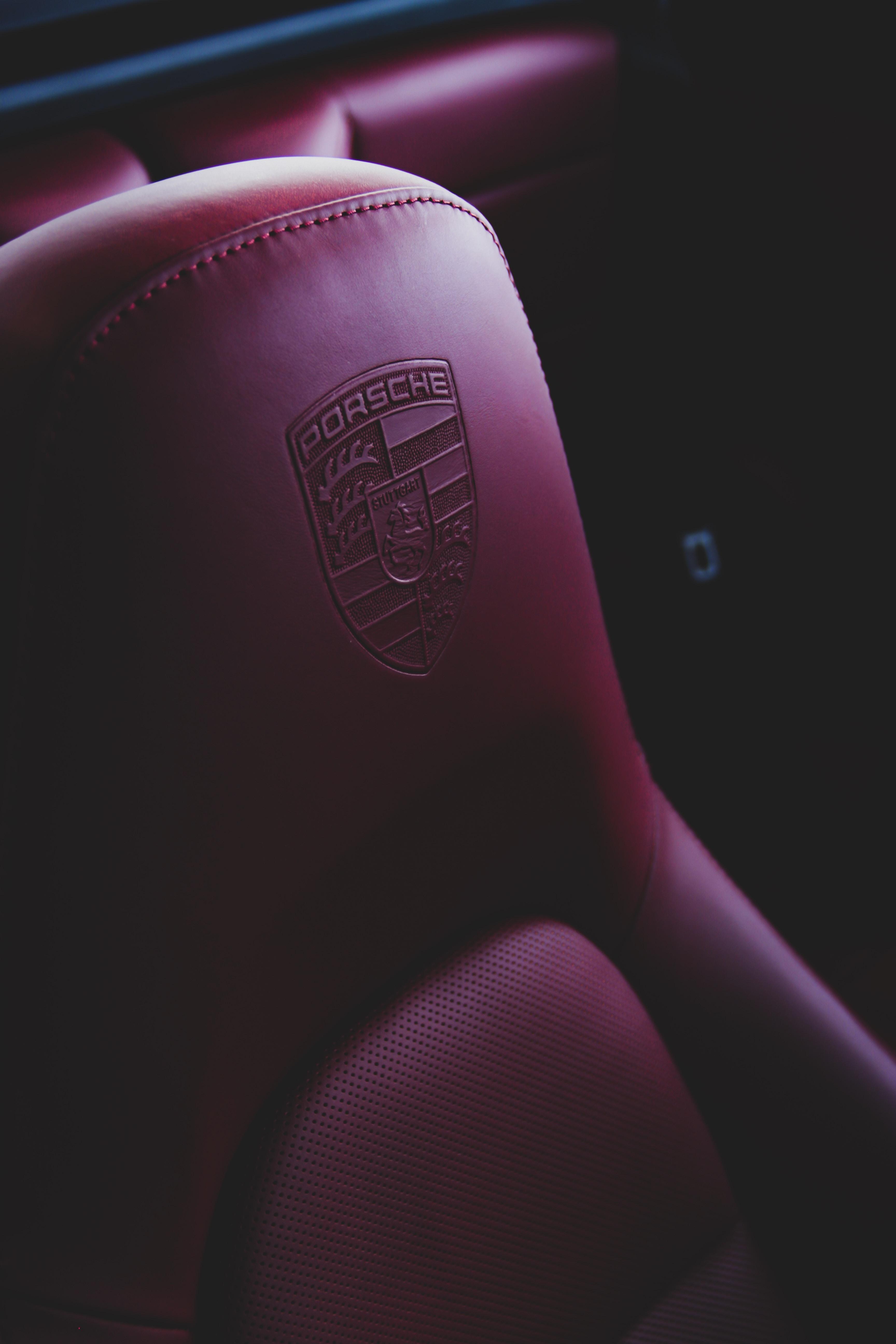 pink leather Porsche shoe