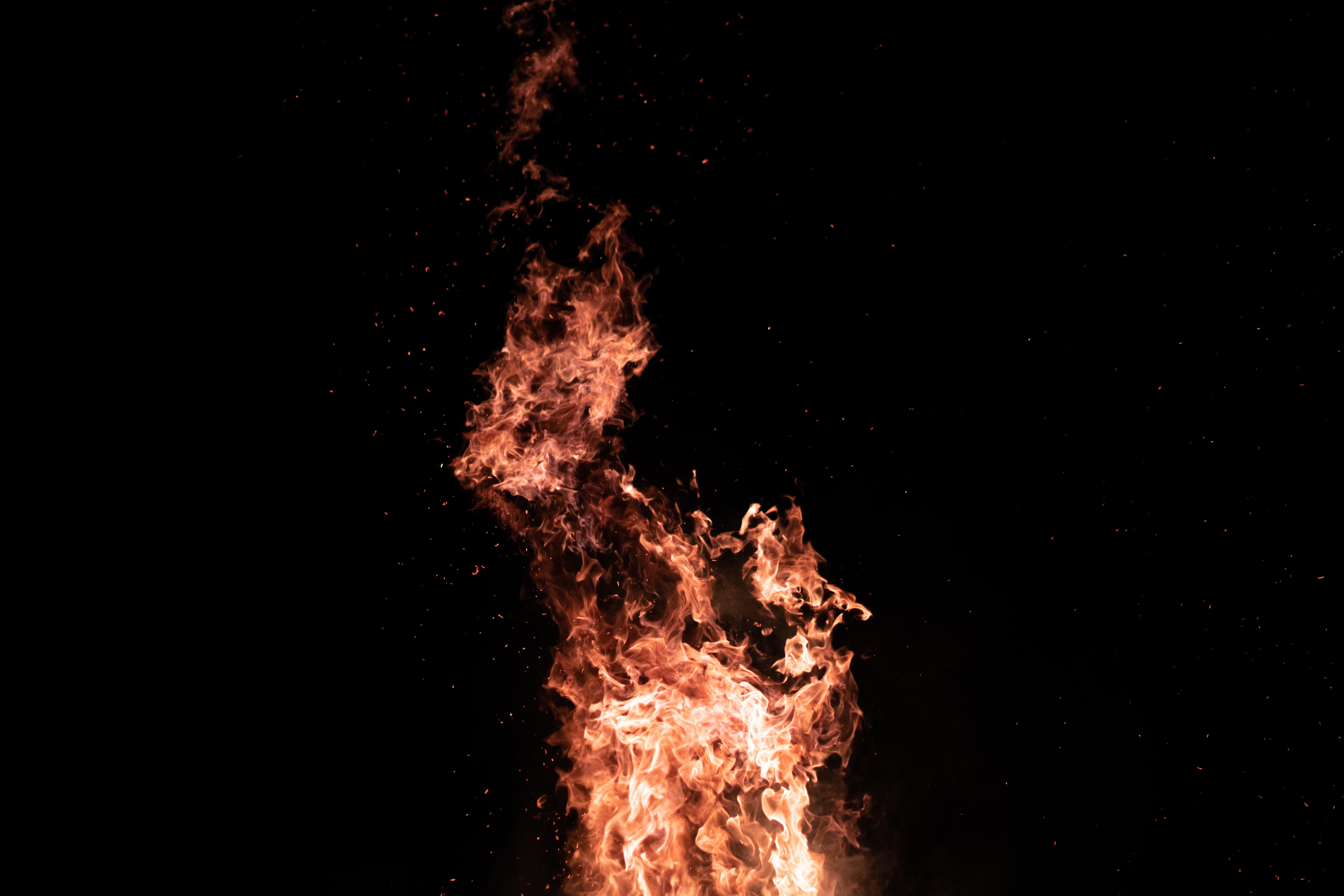 orange fire formation