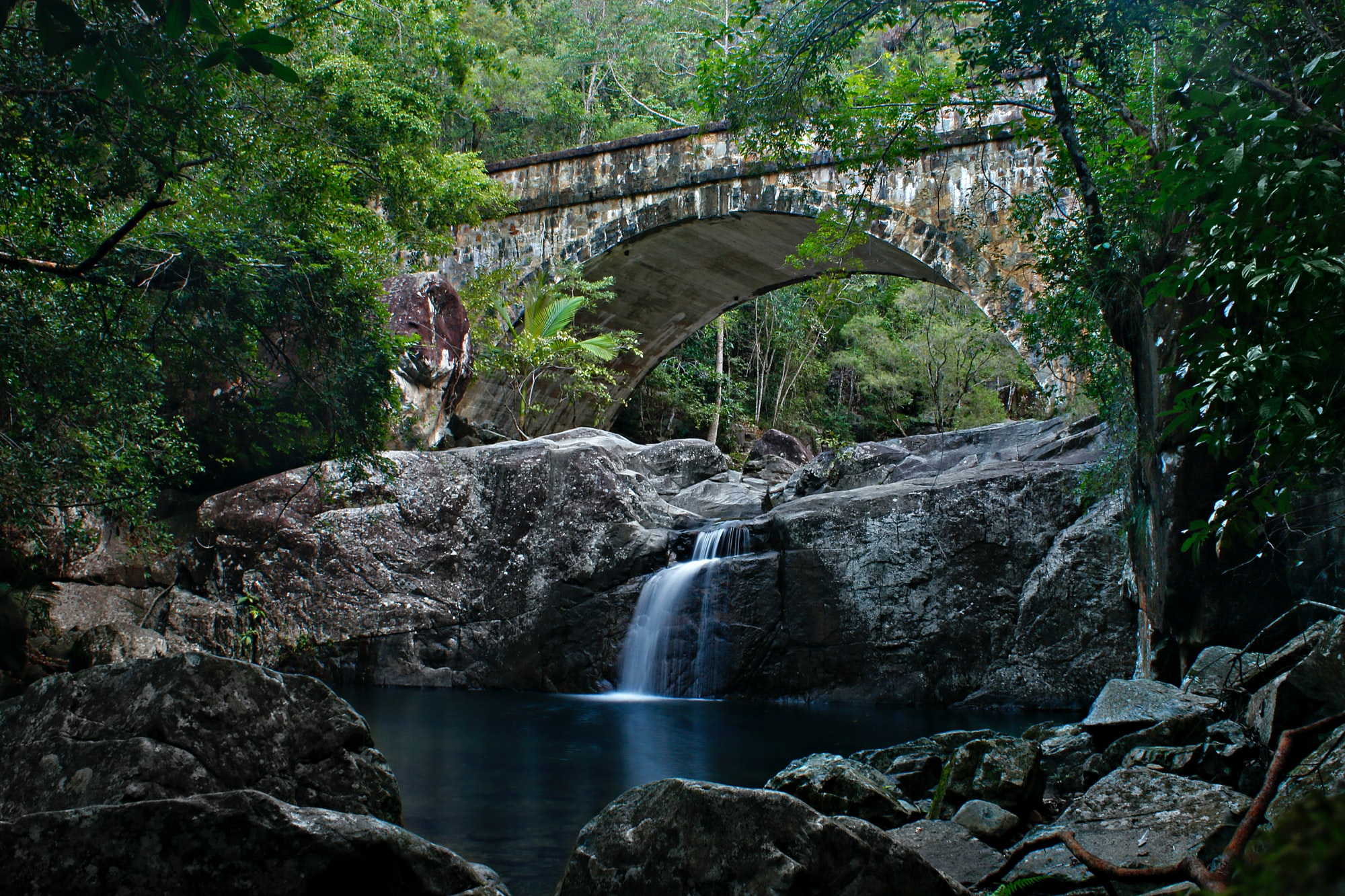 Little Crystal Creek Bridge and Swimming Area