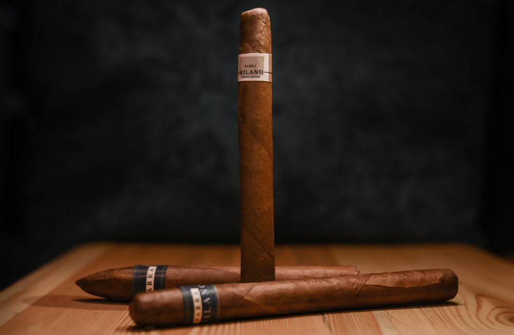 brown cigars