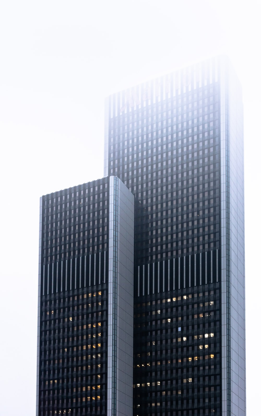 two high-rise buildings