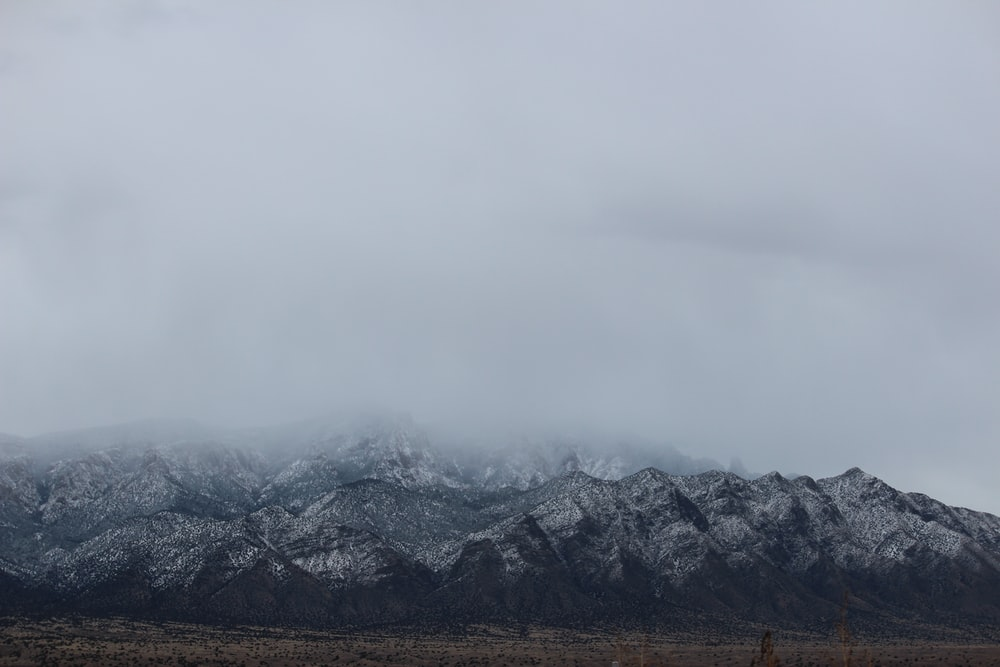 snow-covered mountain ranges during daytime