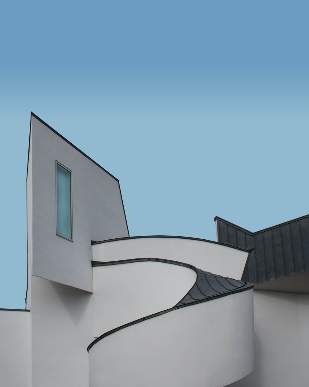 white and black concrete building during daytime