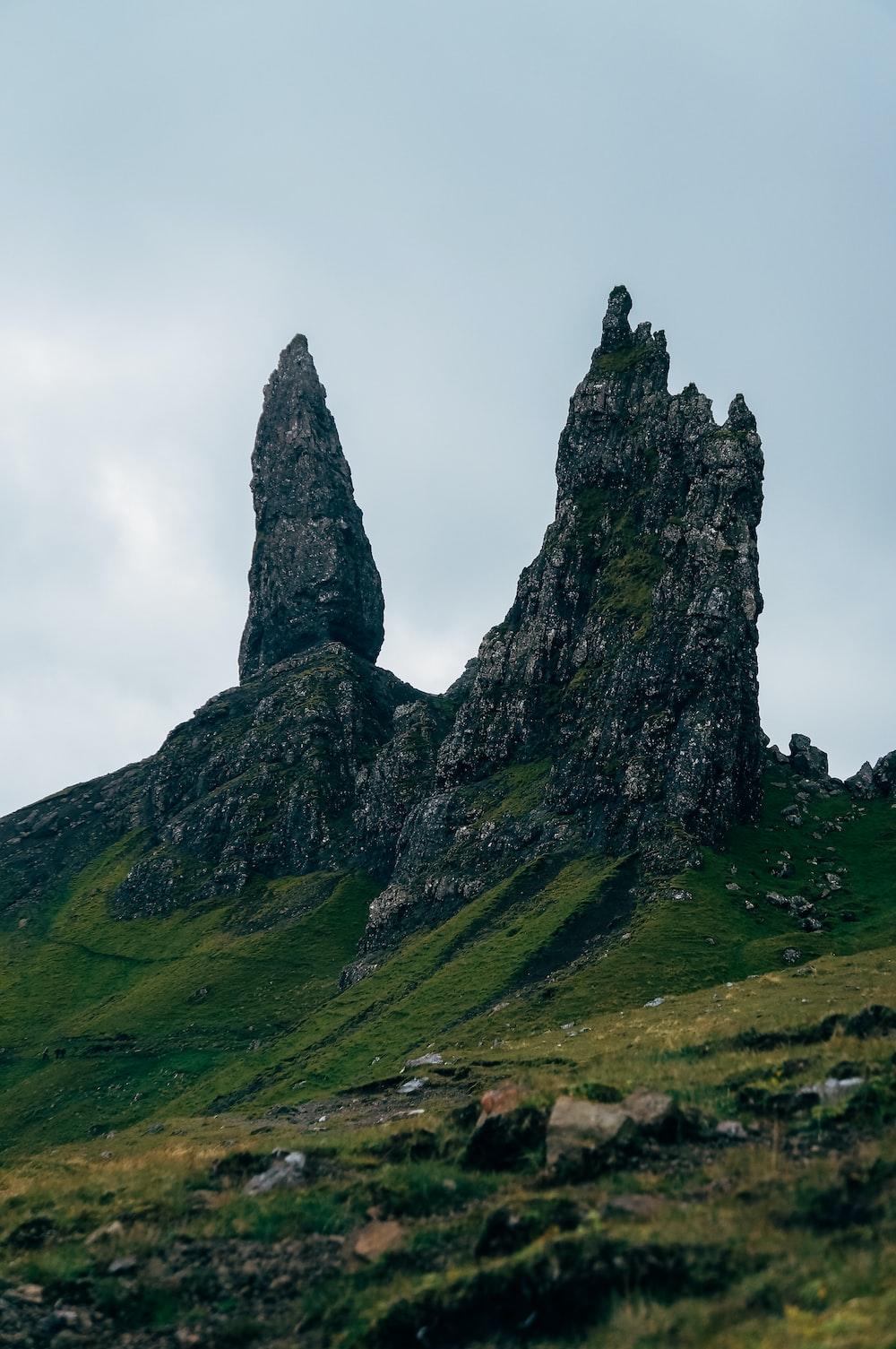 black stone mountain