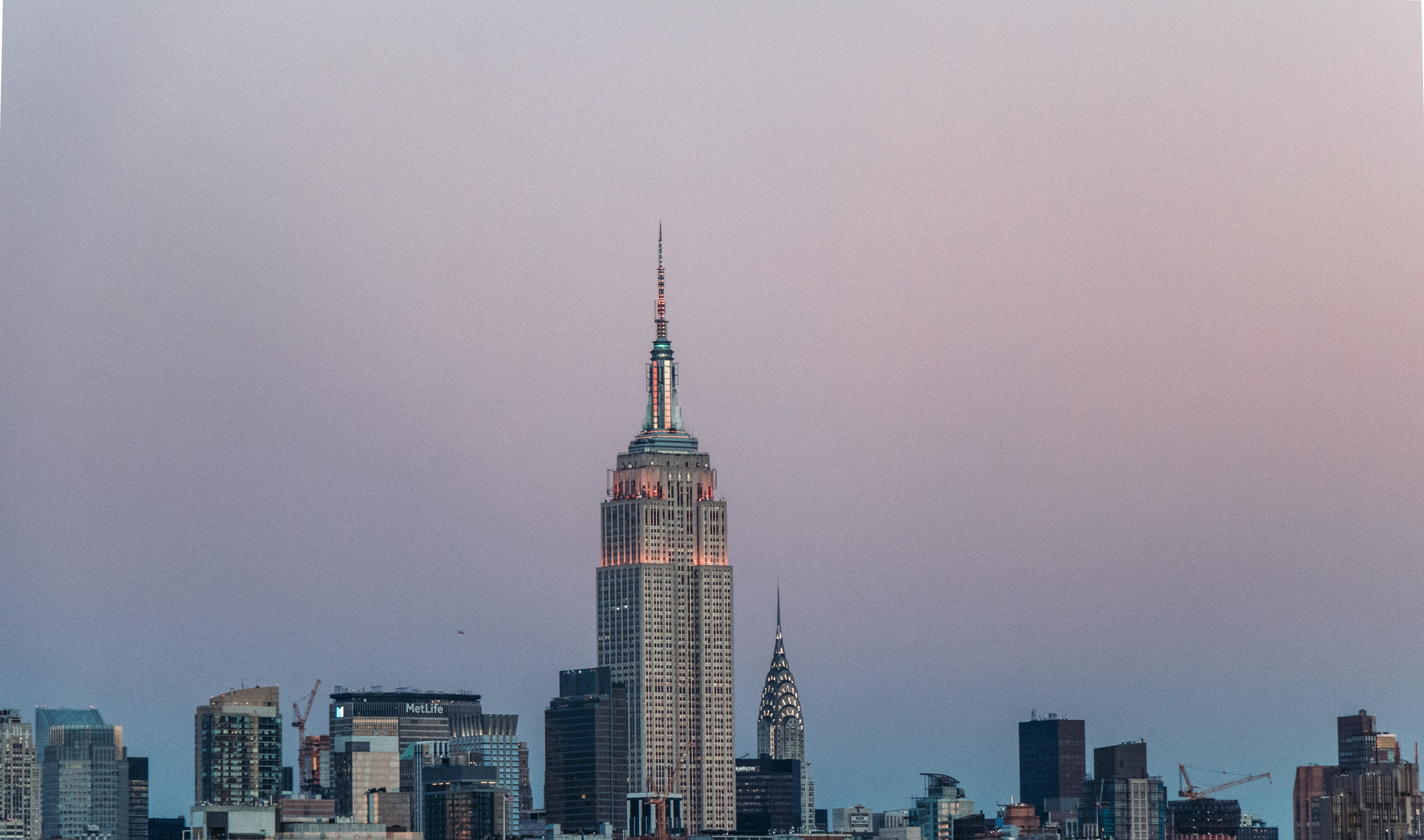 Empire State building in New York City