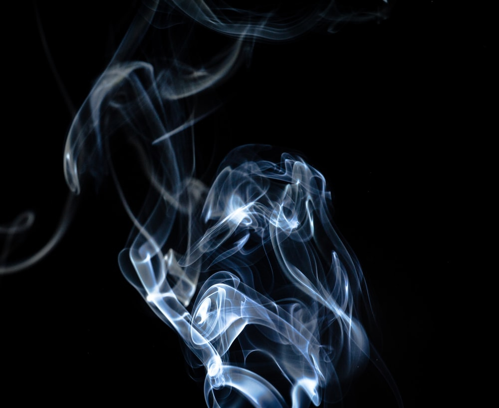 smoke with black background wallpaper