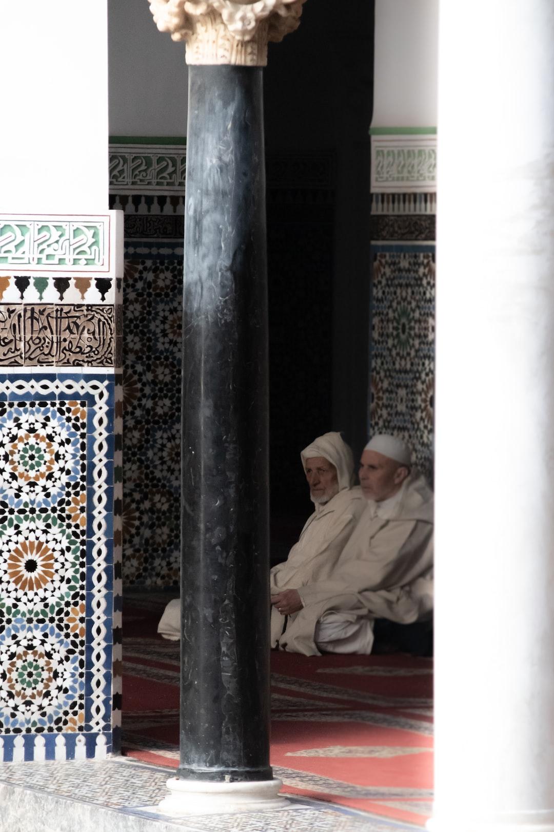 Mosque ar Fez medina, Morocco