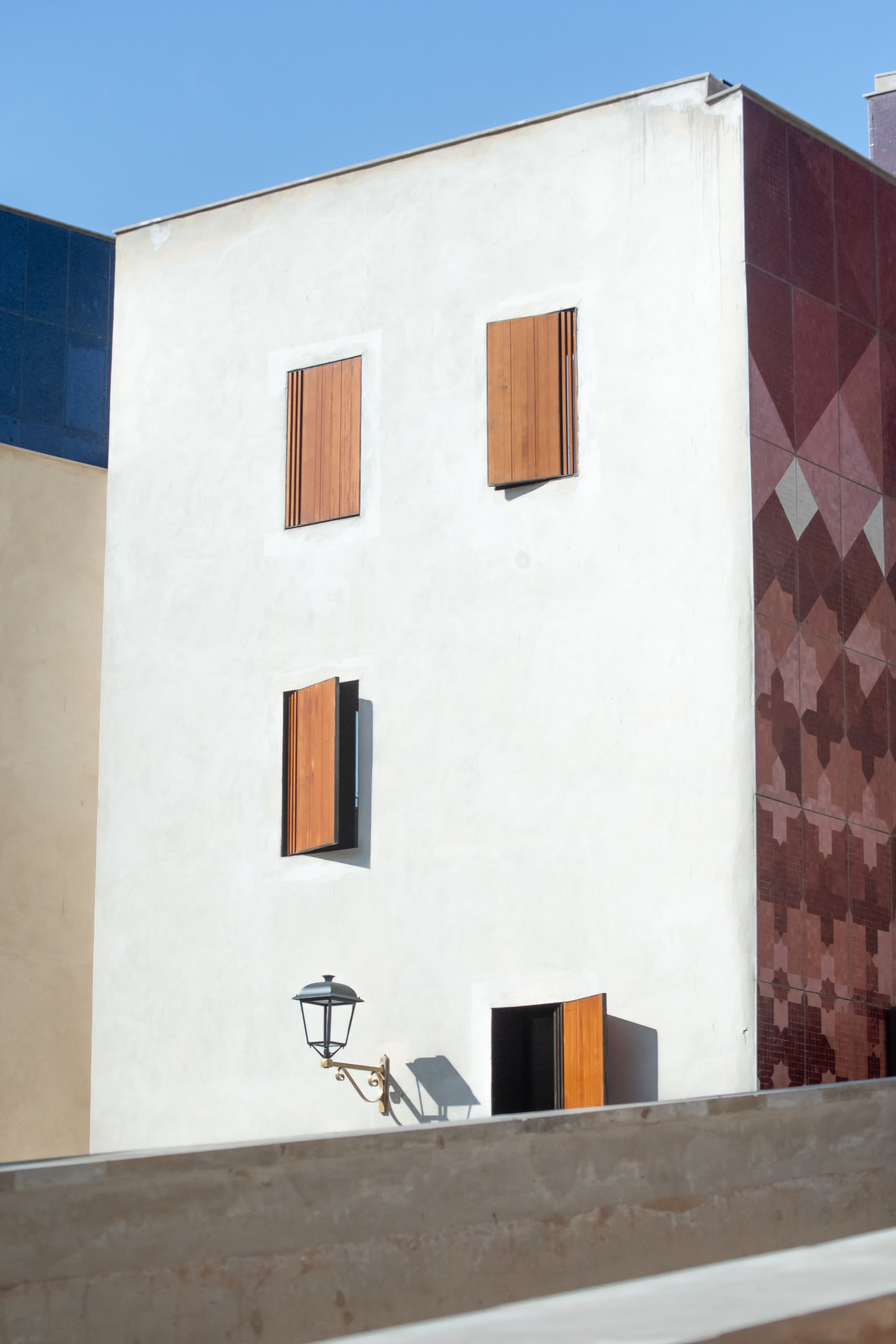 white and brown concrete building at daytime