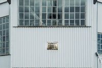 white steel building at daytime
