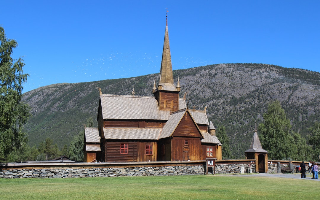 Lom stave church in Norway.