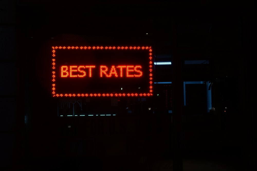 best rates LED signage