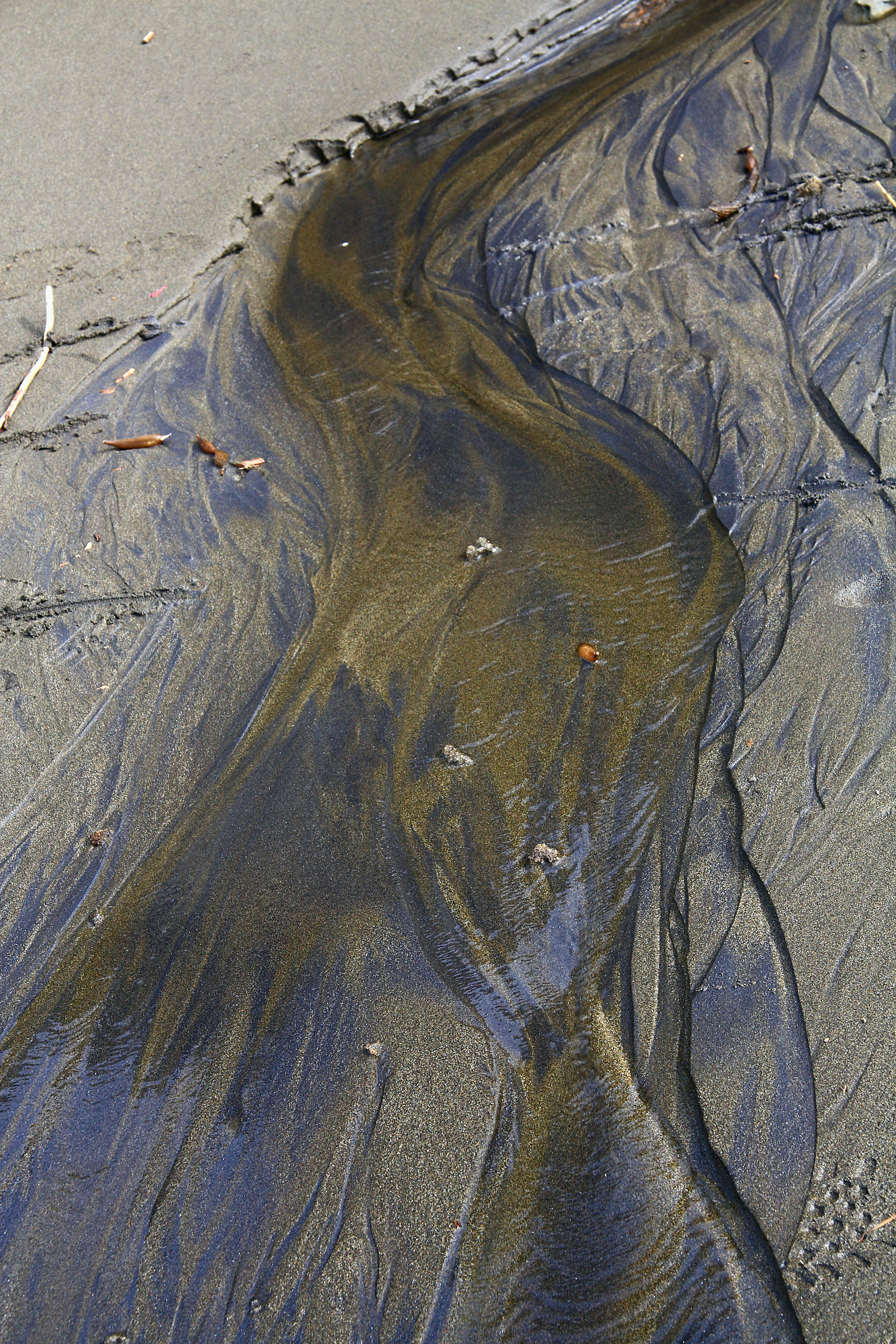 aerial photo of sand
