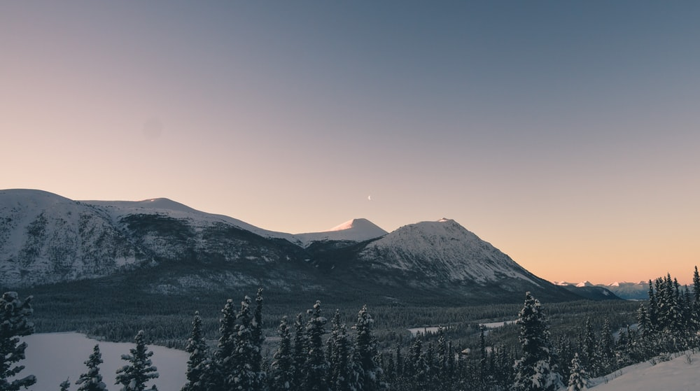 mountain near lake view