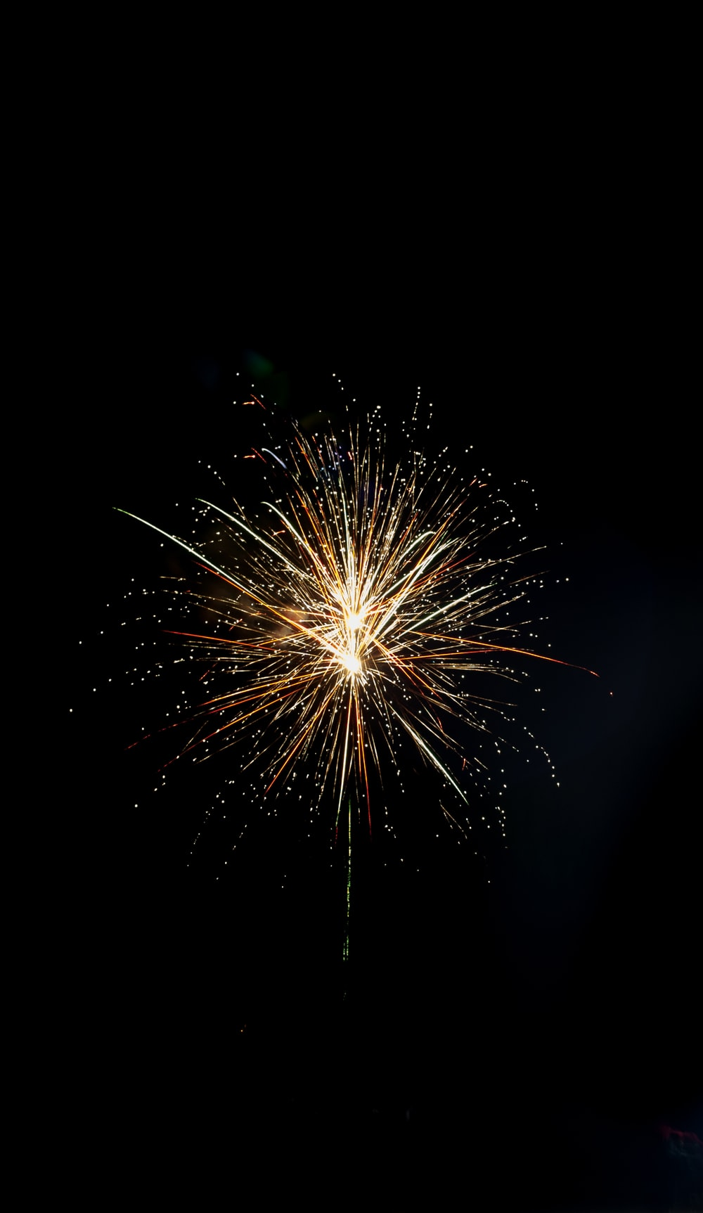 low-angle photography of fireworks