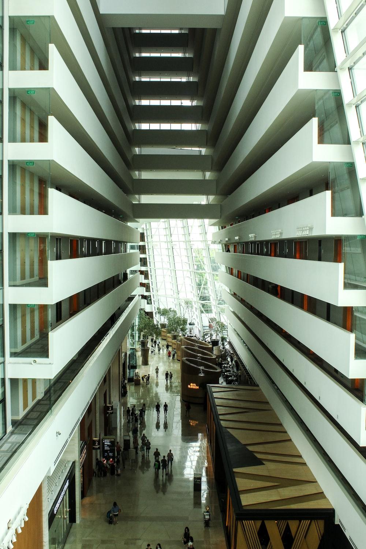 Marina Bay Sands interior