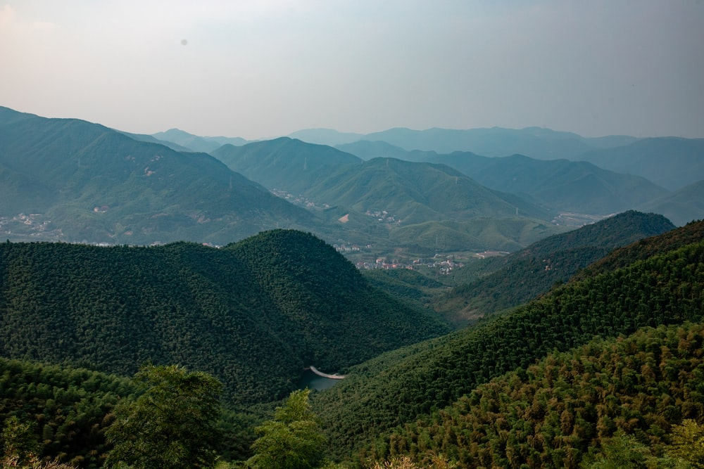 green mountains photography