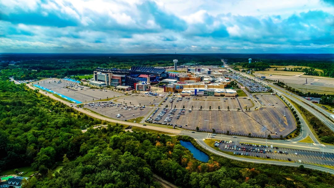 Drone photography of the 6X super bowl champs!