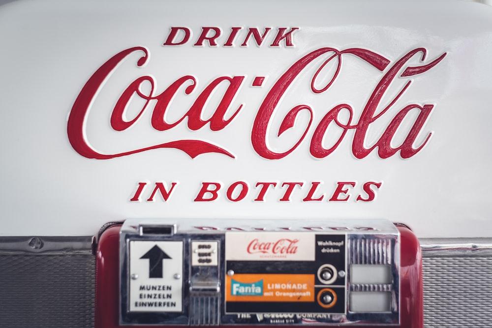 Coca-Cola signage