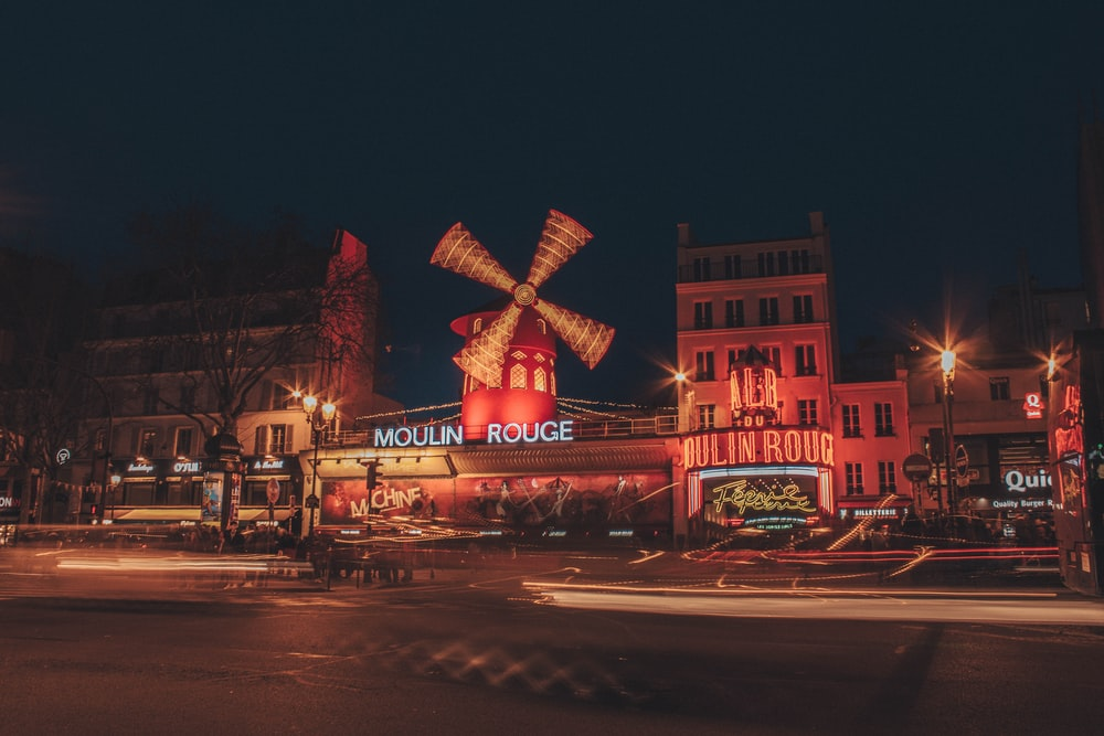 Moulin Rouge signage