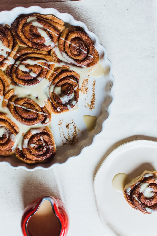 cinnamon bread in bowl