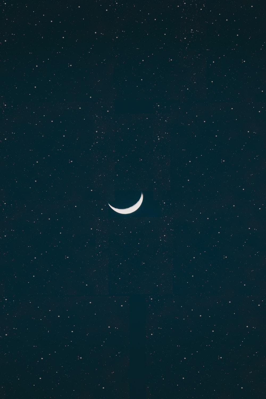 White Moon Wallpaper Photo Free Nature Image On Unsplash