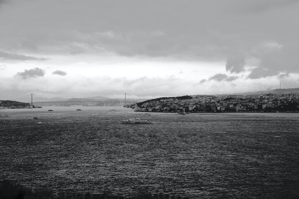 calm sea viewing island