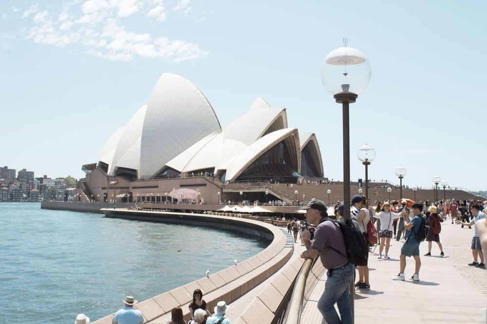 Opera House, Sidney Australia during daytime