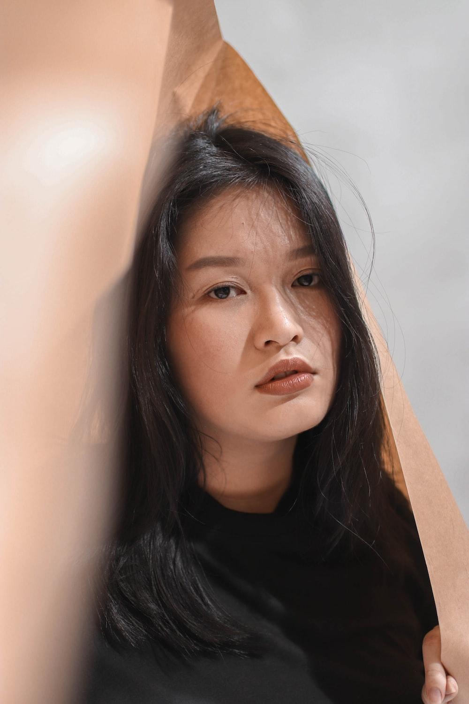 women's black top