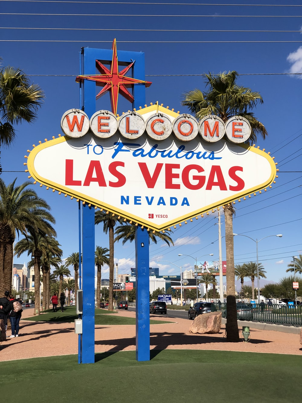 Welcome to Fabulous Las Vegas Nevada signboard during daytime