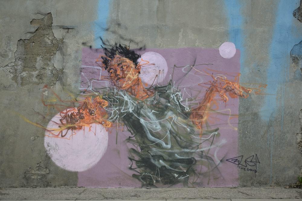 mural concrete wall
