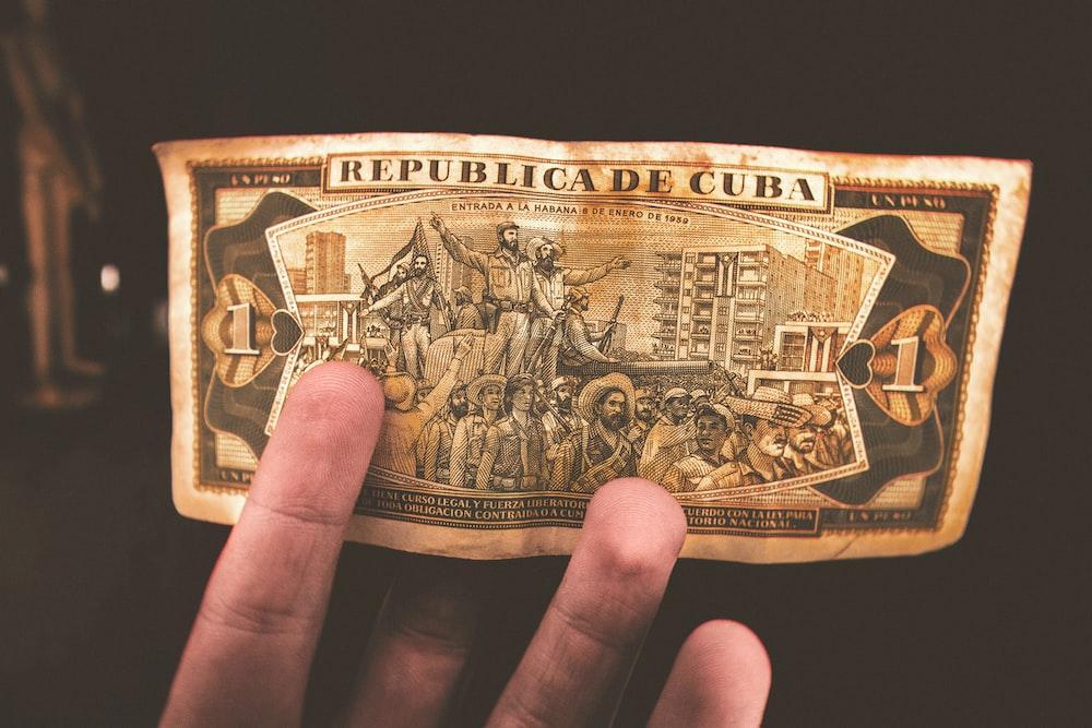Cuban banknote