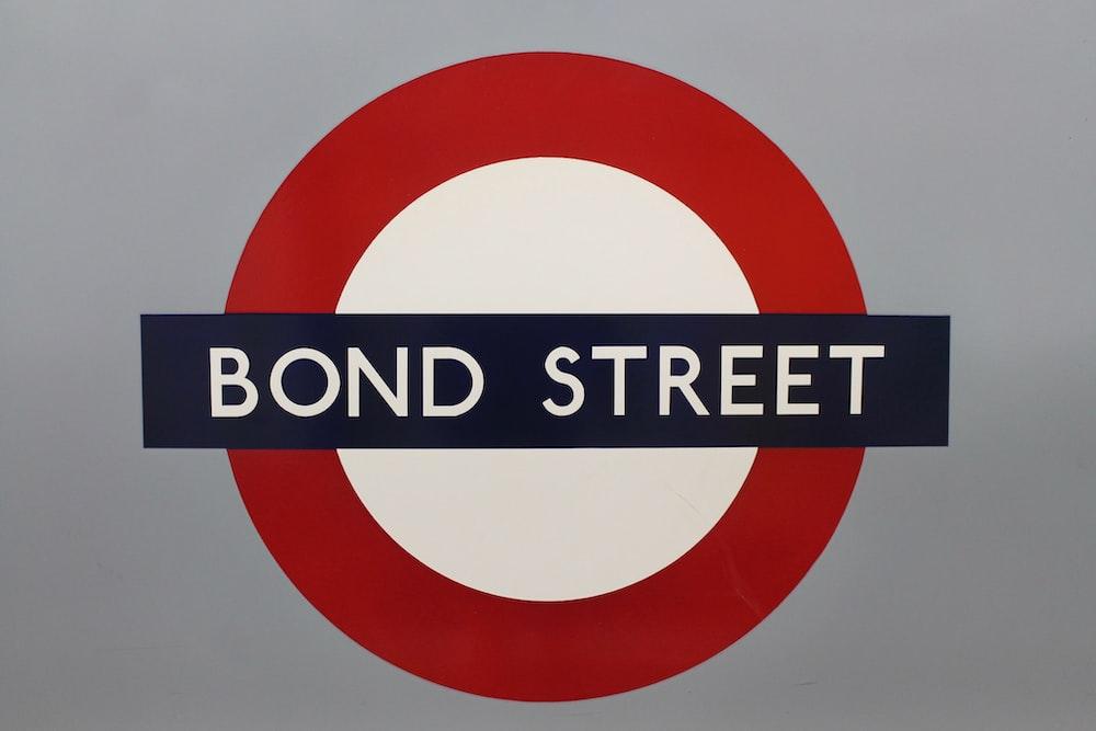 bond street signage
