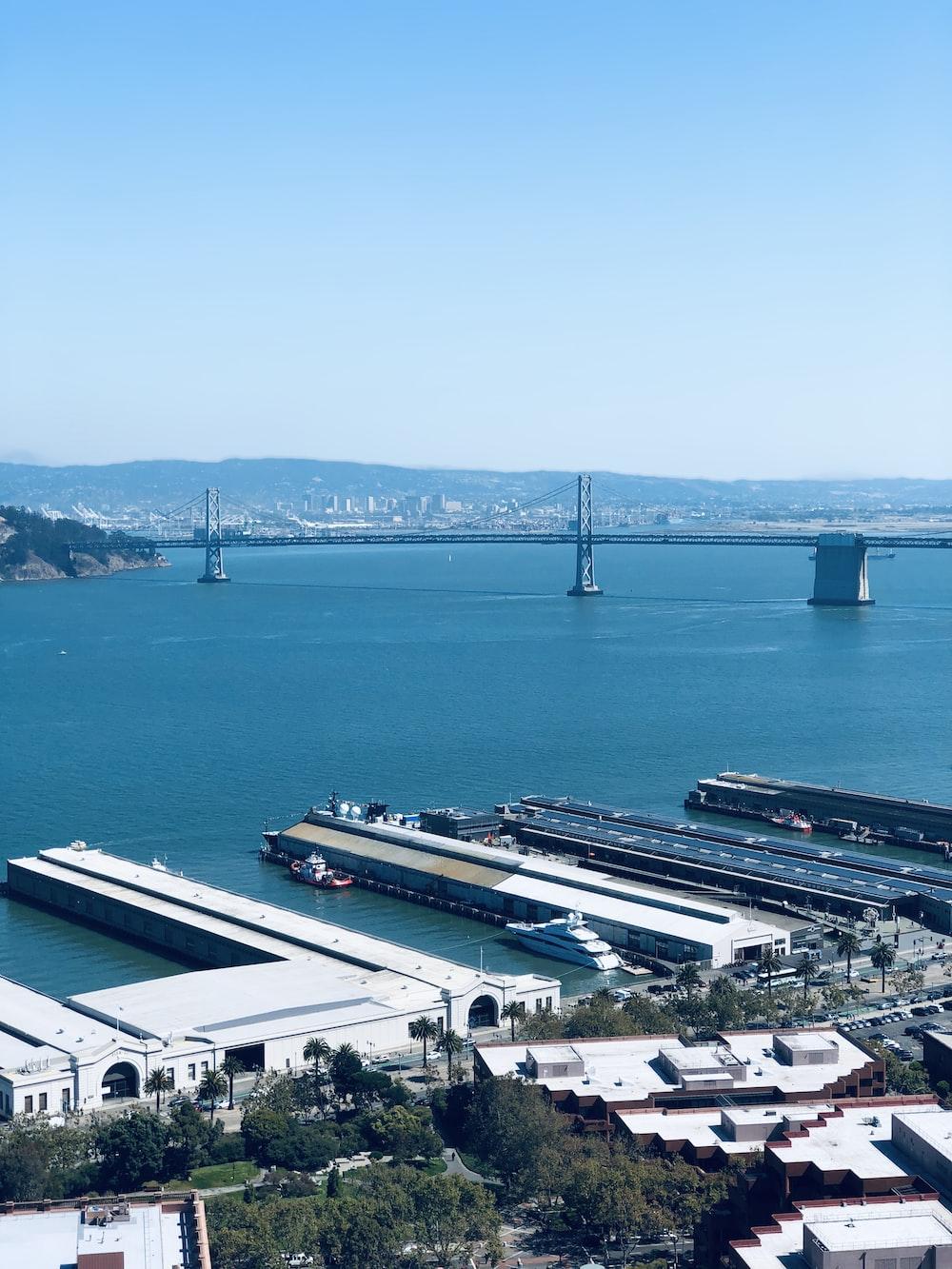 several yacht docked beside dock