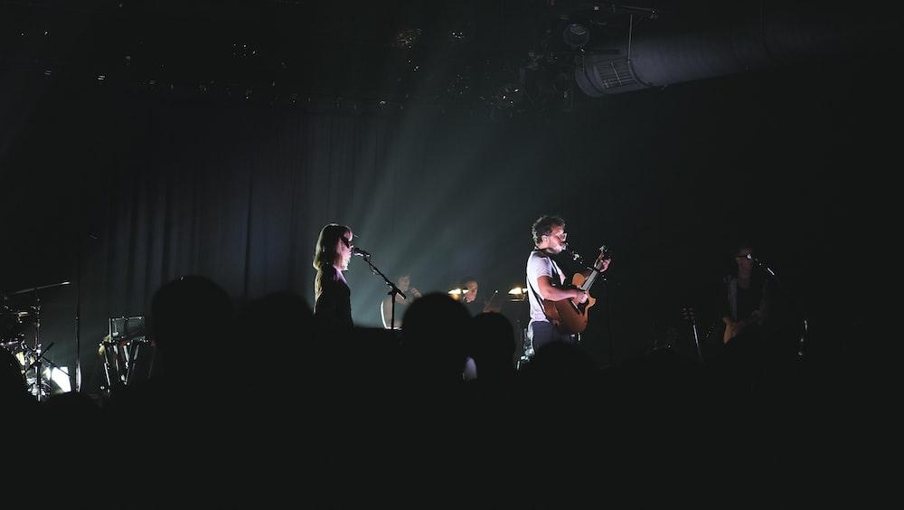 band playing live