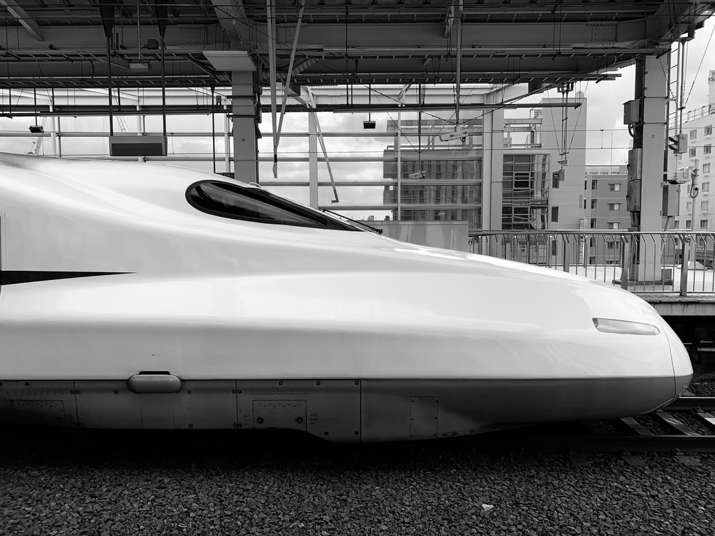 white train during daytime