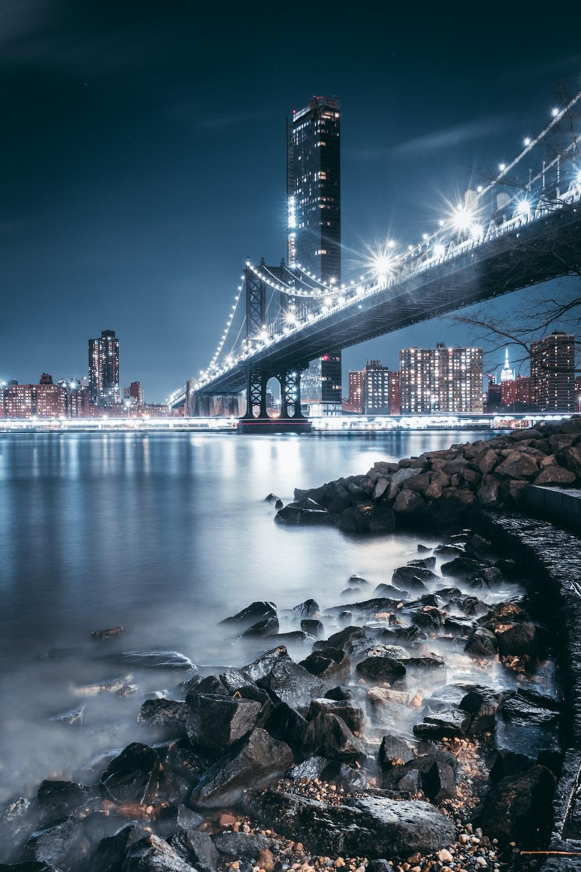 George Washington bridge digital wallpaper