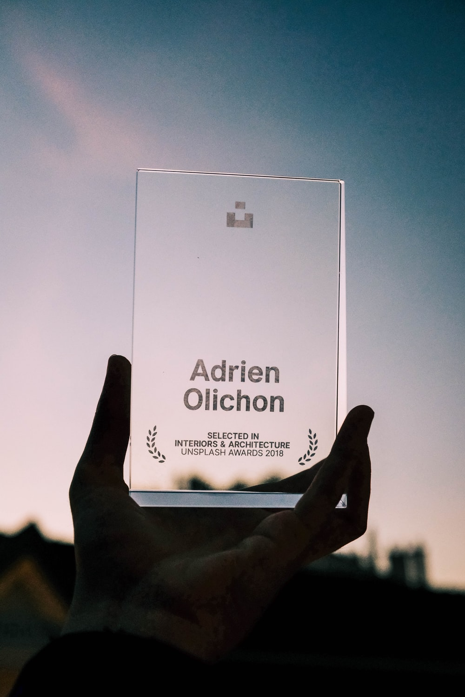 Adrien Olichon trophy
