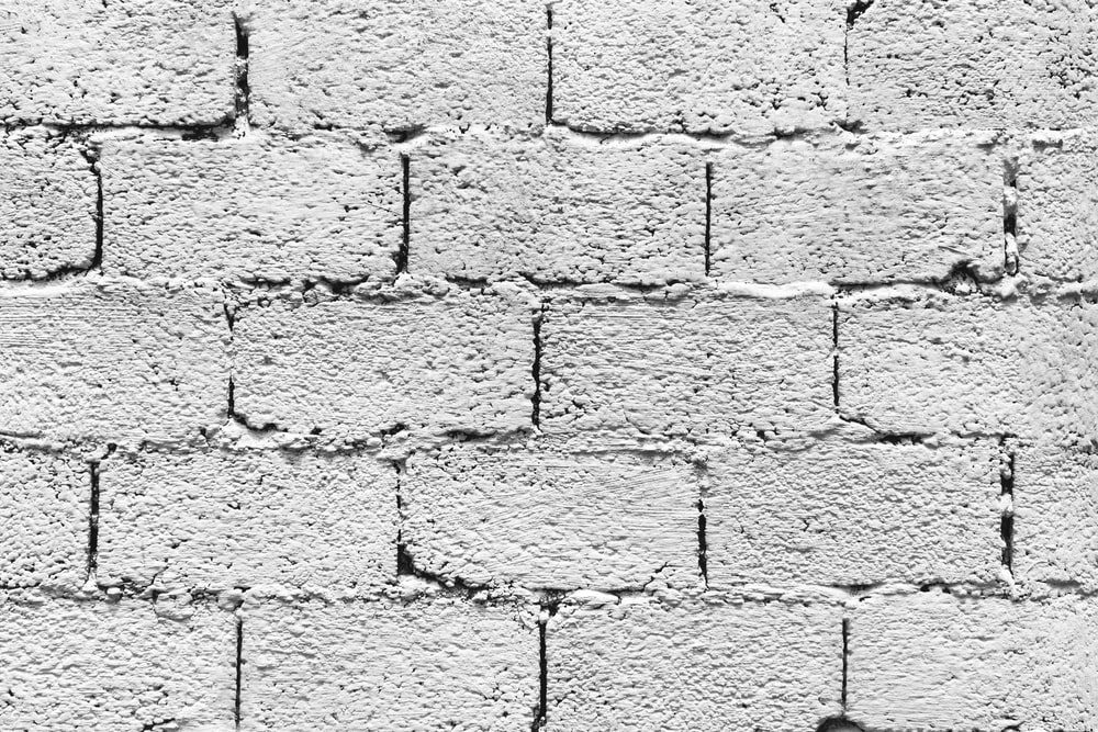 gray concrete brick wall