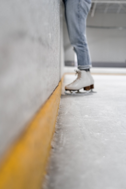 figure skater on ice field