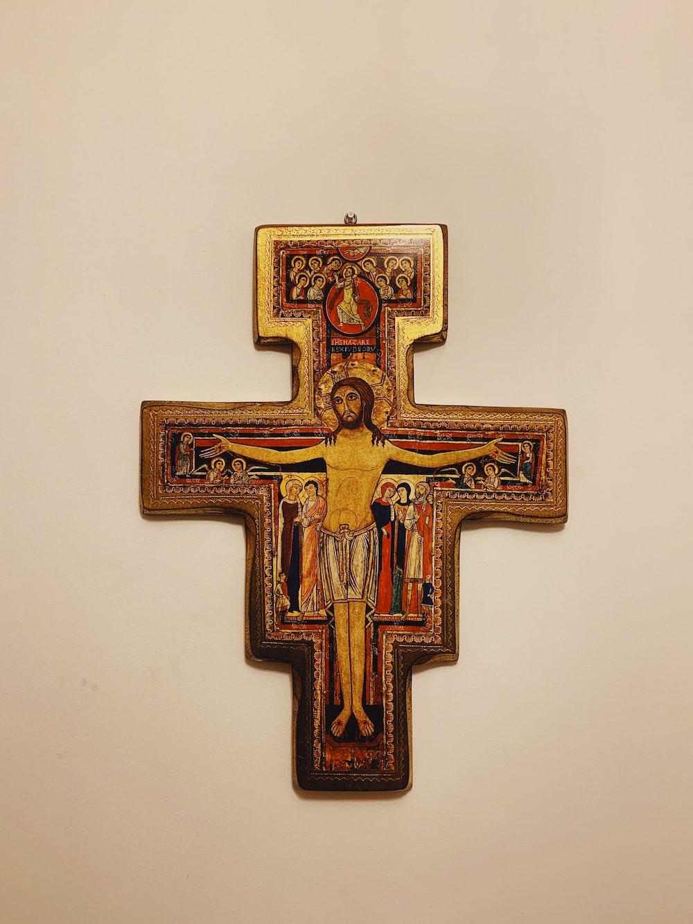 Jesus Christ cross wall decor