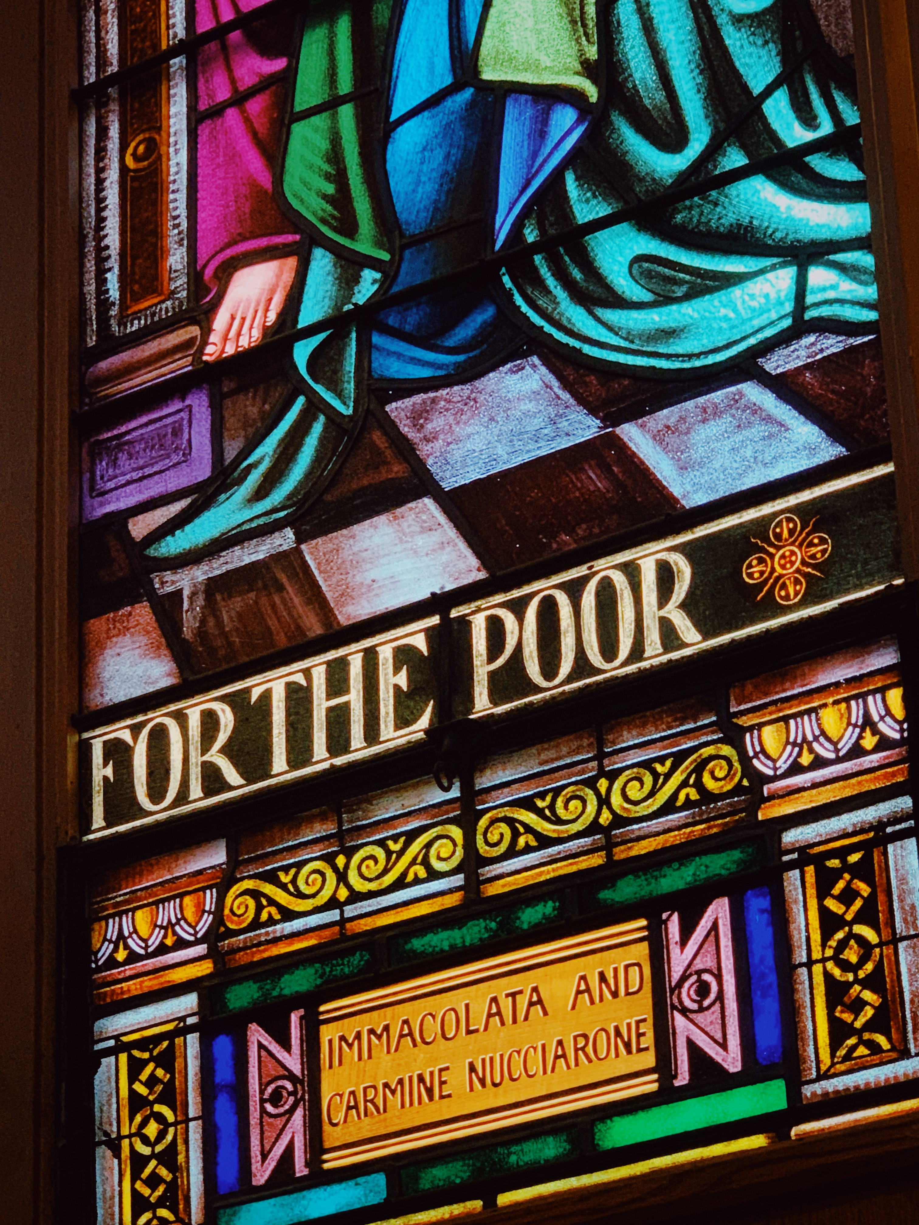 For the Poor Immacolata and Carmine Nucciarone painting