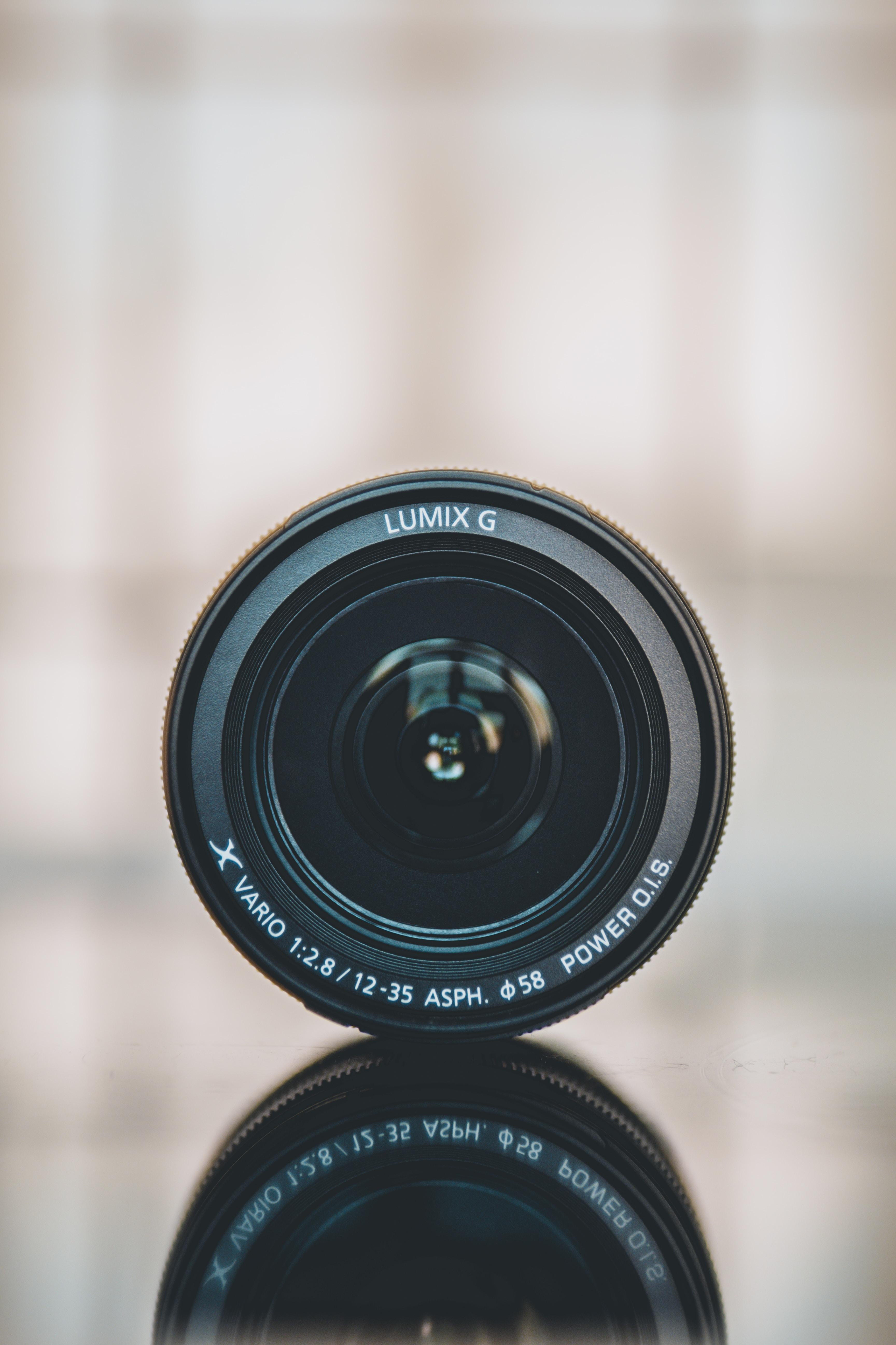 Lumix camera lens