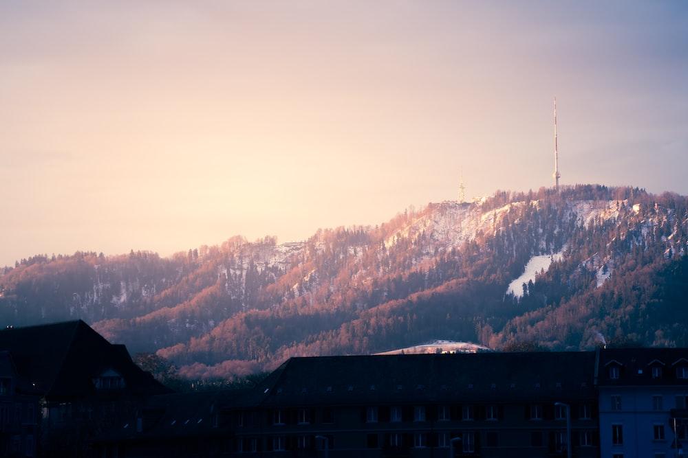 mountain range under clear blue sky screengrab