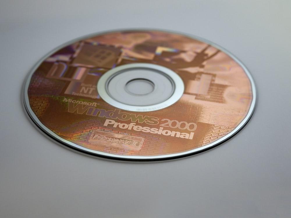 Microsoft Windows 2000 Professional disc