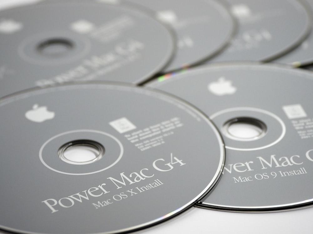 Power Mac G4 disc lot