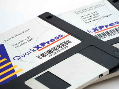 two diskettes